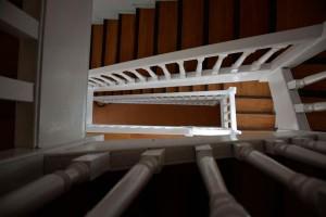 interior del albergue en la sierra de madrid