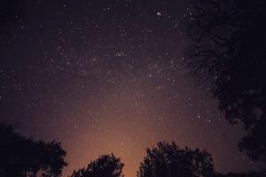 estrellas en albergue de la sierra de guadarrama