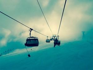 nieve y esquí en la sierra de guadarrama